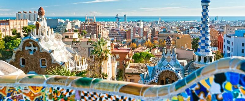 parc guell barcelona spain 1600x900 1 - Barcelona Luxusreisen