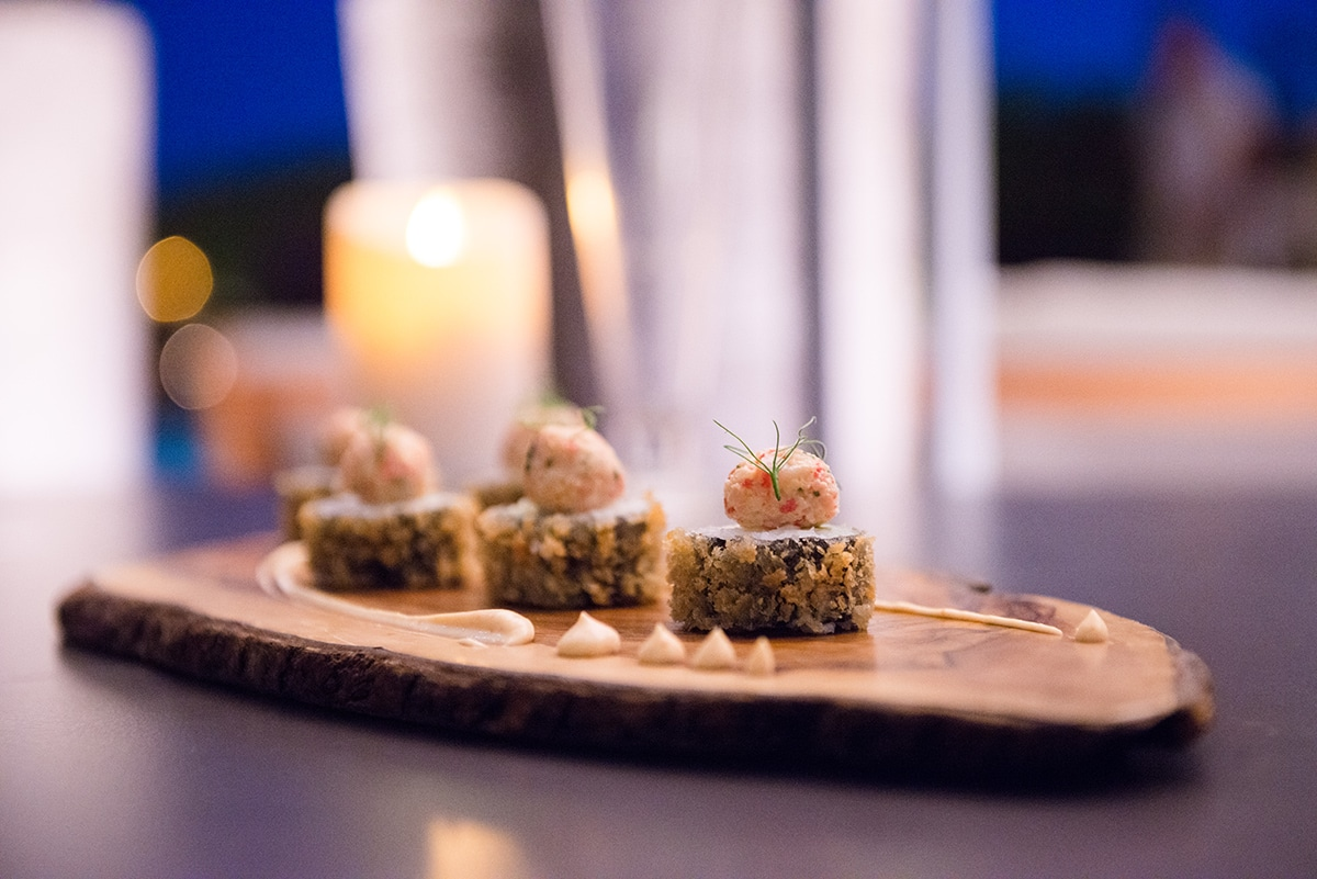 sushi bar sant francesc 29 - Eine romantische Dachterrasse in Palma