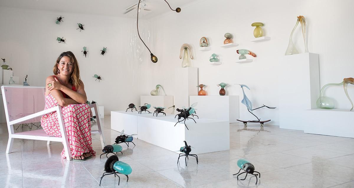 hotglass studio 27 - Die Glaskünstlerin Raquel Pou