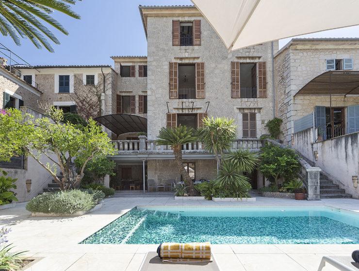 Villa Soller Living Blue Mallorca
